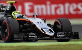 Sergio Pérez alcanza puntos en el GP de Alemania