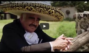 #Entretenimiento / Chente Fernández lanza corrido a favor de Hillary Clinton(VIDEO)
