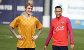#SonidoLocal / Justin Bieber aprovecha su gira mundial para entrenar con elBarça