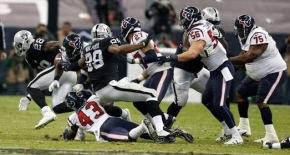 #DeporteInternacional / Raiders vencen a Houston en el Azteca #NFL