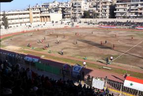 #Internacional / Alepo celebra el primer partido de futbol tras cinco años deguerra
