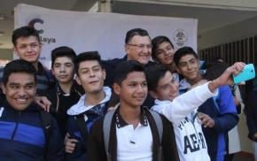 #Local / Llama Alcalde a estudiantes a prepararse para ser los pilares de nuestra ciudad. #Celaya