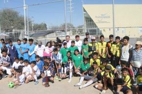 #DeporteLocal / Premian a los ganadores del Torneo de Futbol SIDEC-SantaMaría