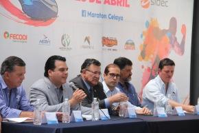 #DeporteNacional / Fue presentada la próxima edición del Maratón Batallas de Celaya