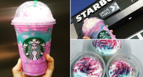 #WTF / Starbucks lanza la bebida estrella, UnicornFrappuccino