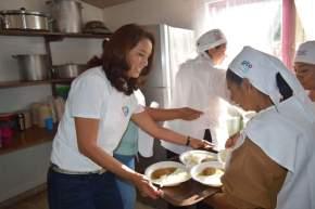 #CaraFeliz / ReinauguraDIF Celaya comedor comunitario en Plancarte