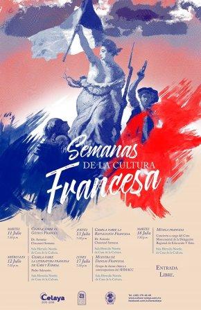 #CulturaLocal/ Semana de la Cultura Francesa en#Celaya