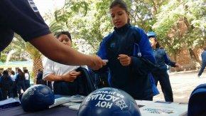 """#Seguridad / Llevan """"Feria de la Prevención"""" a telesecundaria de lasJacarandas"""