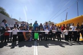 #Local / Fomentan Sustentabilidad Comunitaria y entregan calles pavimentadas en Las Américas#Celaya